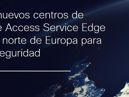 Cisco lanza nuevos centros de datos Secure Access Service Edge (SASE) en el norte de Europa