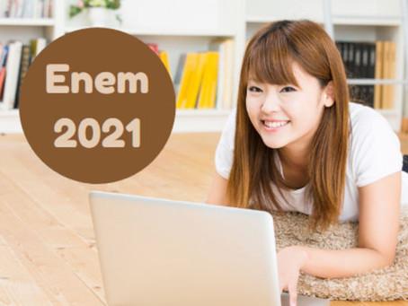 Edital para isenção do ENEM 2021
