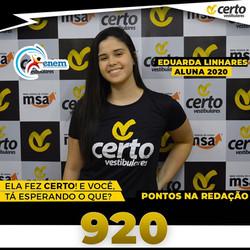 EDUARDA LINHARES REDAÇÃO