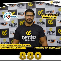 ANDRÉ VICENTE REDAÇÃO