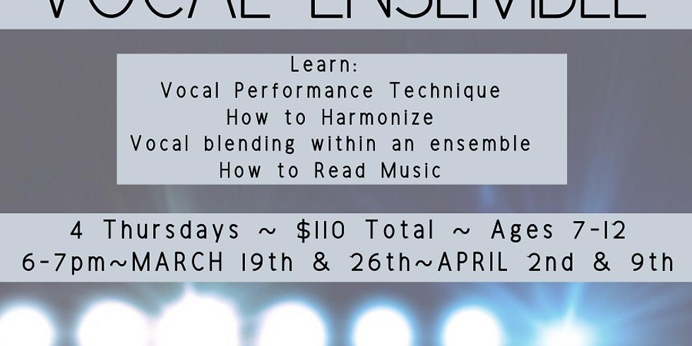Vocal Ensemble (Ages 7-12)