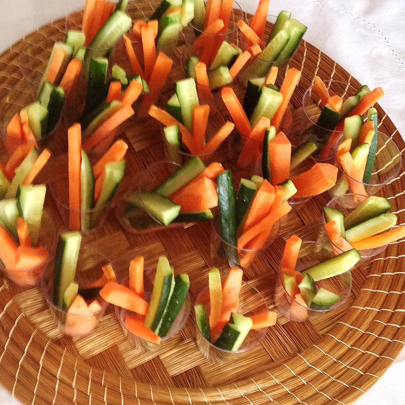 Palitinho cenoura e pepino