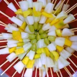 Fruta no palito
