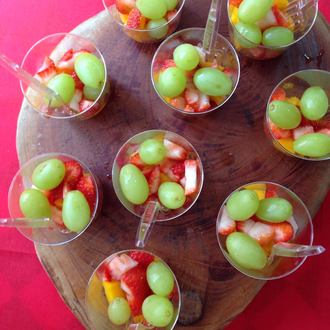 Potinho de frutas