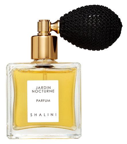 Jardin Nocturne Parfum by Shalini (with black bulb atomizer)