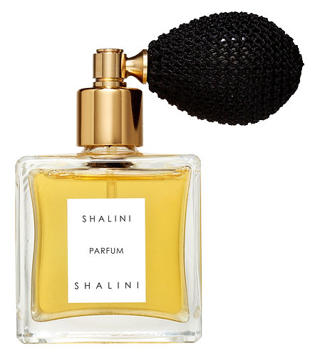 Shalini Parfum by Shalini (with black bulb atomizer)