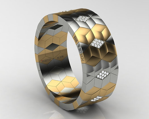 Gold Hexagons, Double Signature Roberto Demeglio-Jens W. Beyrich