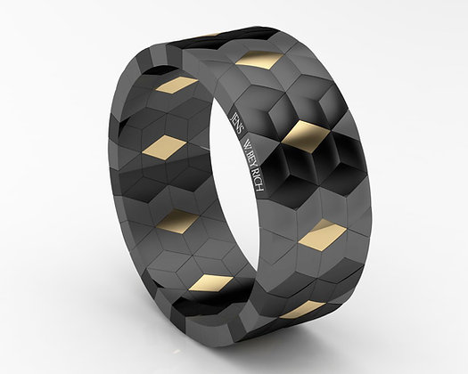 Black Hexagons, Double Signature Roberto Demeglio-Jens W. Beyrich