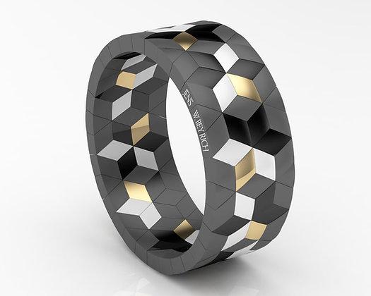 Hyperymmetrics 10-Star-Bracelet,Double Signature Roberto Demeglio-Jens W Beyrich