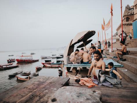 All'alba sul Gange