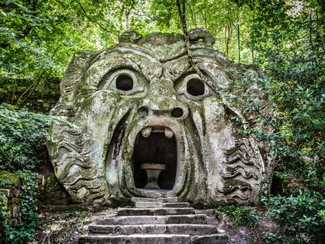 l giardino di Bomarzo: una giornata mostruosa