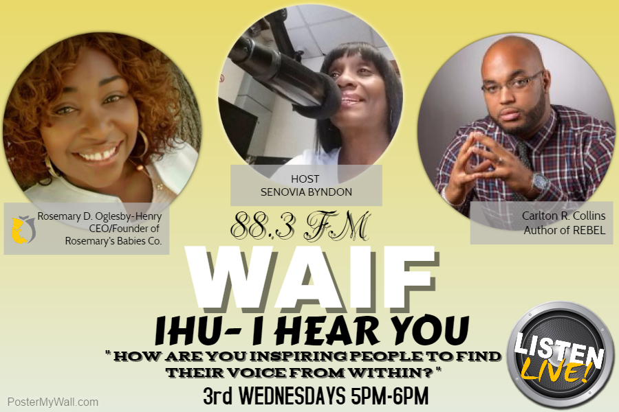 Tune In 3rd Wednesdays
