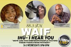Tune In 3rd Wednesdays