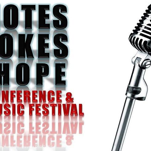 Notes, Jokes & Hope Festival