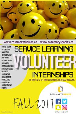 Seeking Volunteers: Learn More