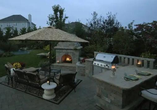 outdoor kitchen stl