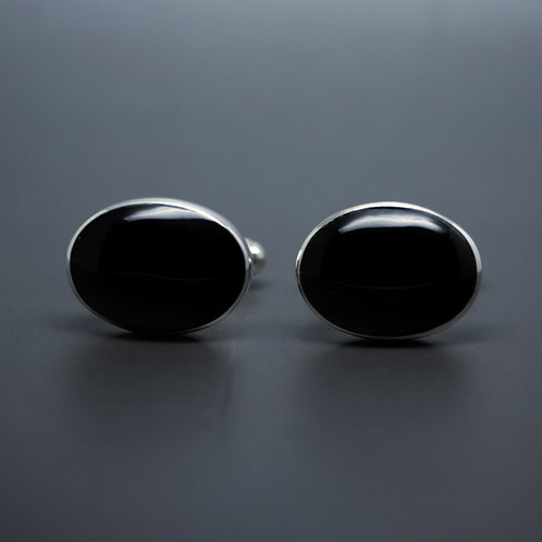 Large Oval Cufflinks