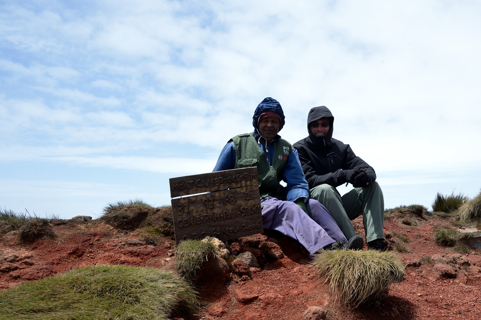 Summit of the Mount Cameroun