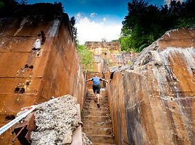 3 084 Erzberg Machu Pichu Stairs Erzberg