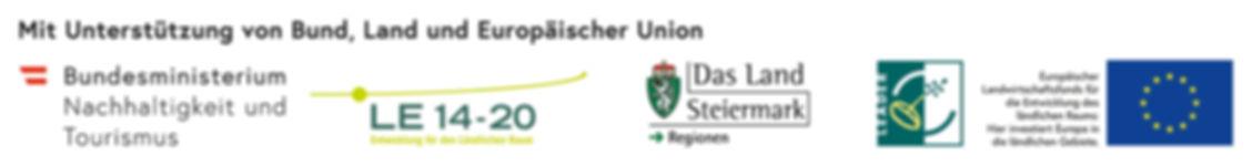 Bund_Land Stmk_EU_ELER_LEADER_DE_farbig_