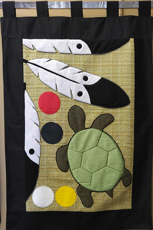 Eagle Feathers/Turtle