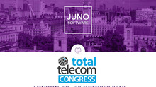 Meet JUNO Software at Total Telecom Congress in London