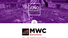 JUNO Software exhibits at Mobile World Congress 2020 in Barcelona