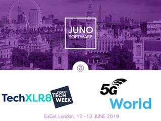 Meet JUNO Software team at TechXLR8 and 5G World in London