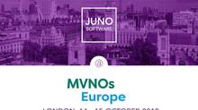 Meet JUNO Software team at MVNOs Europe 2019 in London