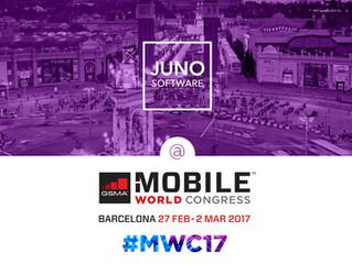 Meet JUNO Software team at #MWC17