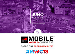 Meet JUNO Software team at the mobile industry event of the year #MWC18