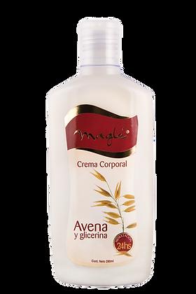Crema Corporal Avena y Glicerina