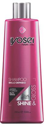 Shampoo Brillo Definido SIN SAL 350 ml