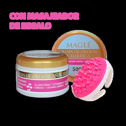 Crema Anticelulítica con masajeador circular de REGALO