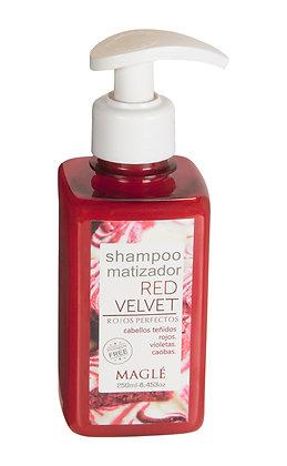 Shampoo matizador Red Velvet Magle 250ml