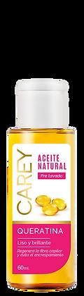 Aceite natural Queratina 60 ml