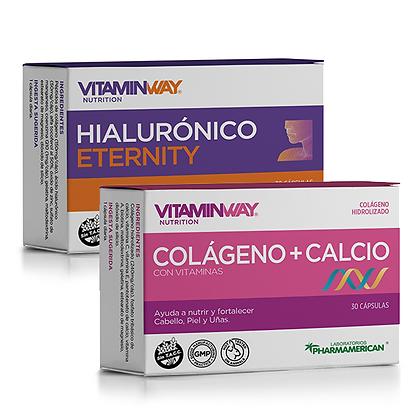 Colageno + Calcio & Ácido Hialurónico