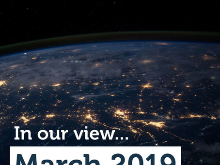 The Advisory View: March 2019