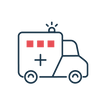 Blue light sector icon