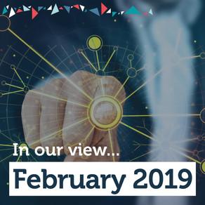 The Advisory View: February 2019