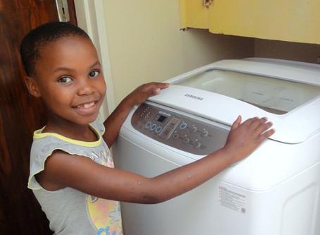 Neue Haushaltsgeräte für das Kinderheim