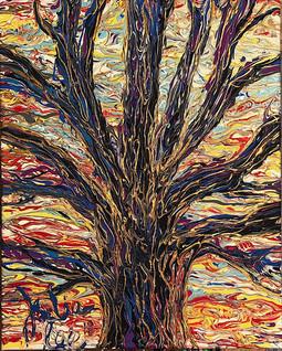 trippy tree #3...$75