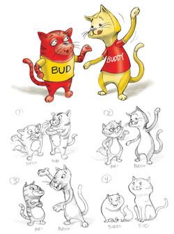 Friskies Cat Duo Concepts