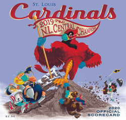 2020 Cardinals Official Scorecard