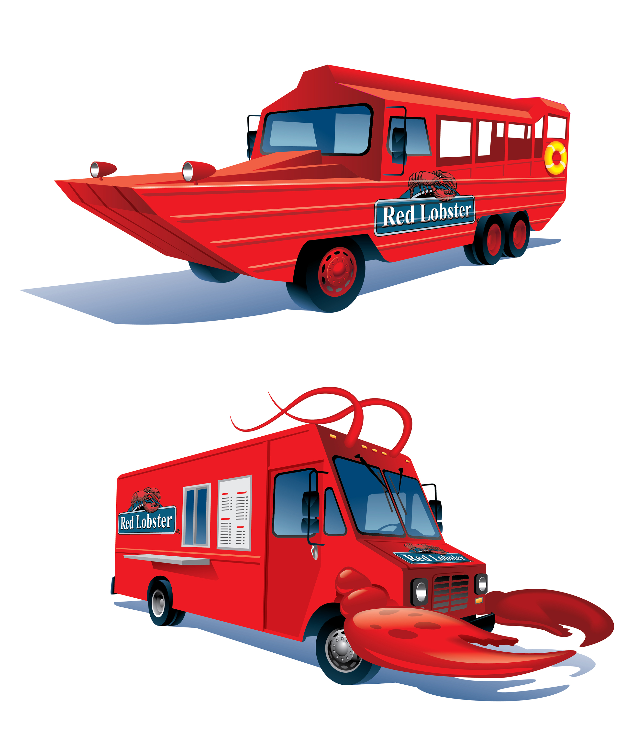 Red Lobster Vehicles