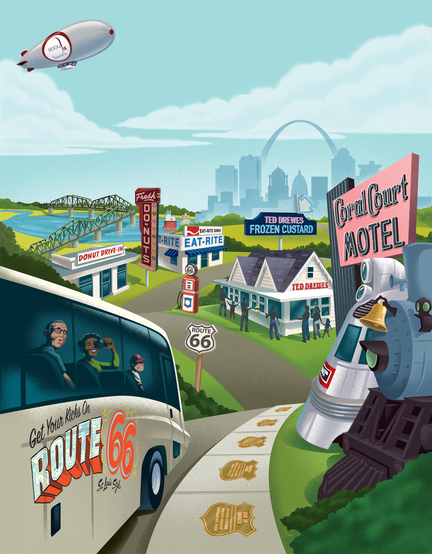 CVC Route 66 Poster