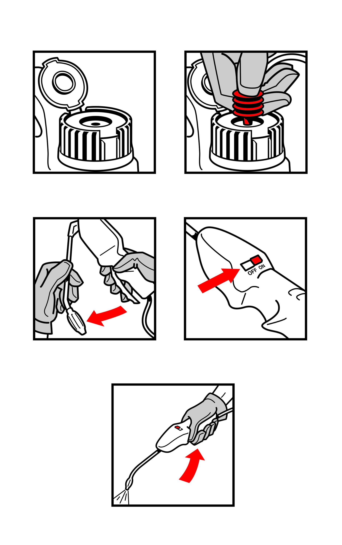 Bayer Spray Handle Instructions