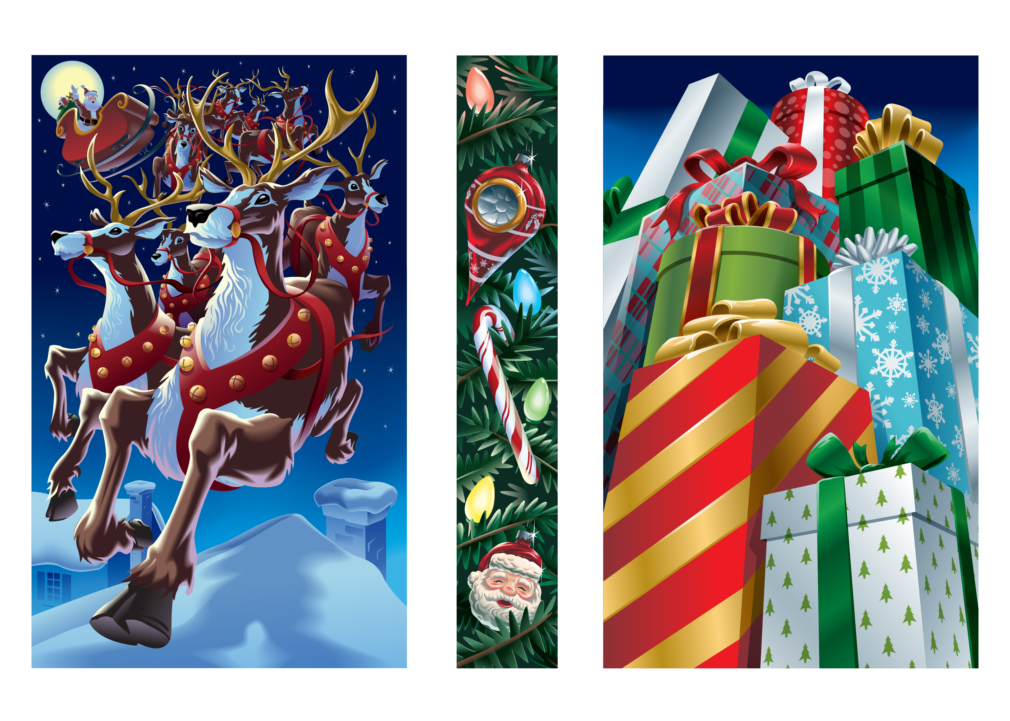 Brookfield Mall Christmas Art