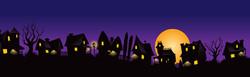 Beggin Strips Halloween Houses