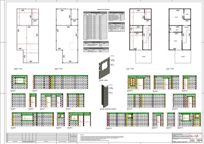 Projeto Alvenaria Estrutural
